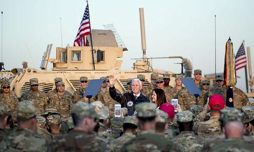 Mike Pence im Irak