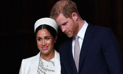 Meghan und Harry haben vor drei Jahren geheiratet
