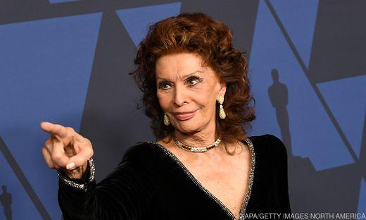 Schauspielerin Sophia Loren