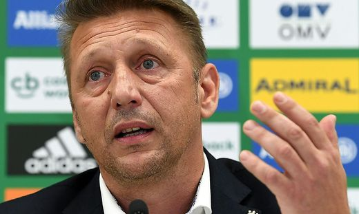 Rapid-Sportchef Barisic bitte um Geduld: ''Es ist nicht alles schlecht''