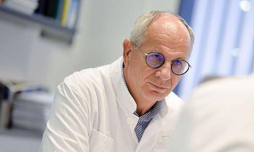 Rudolf Likar, der Intensivkoordinator des Landes Kärnten