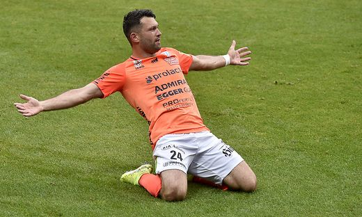 FUSSBALL TIPICO BUNDESLIGA / FINALE HINSPIEL ZUR EUROPA LEAGUE: FK AUSTRIA WIEN - TSV HARTBERG