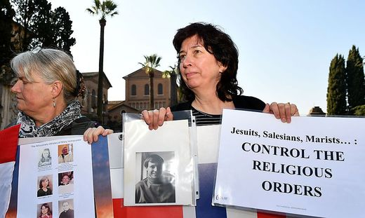 Proteste im Vatikan