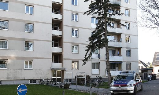 In diesem Haus in Klagenfurt ist es zur Bluttat gekommen