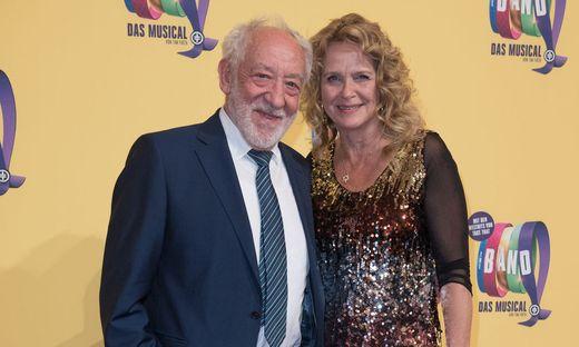 Dieter Hallervorden und seine Lebensgefährtin Christiane Zander.
