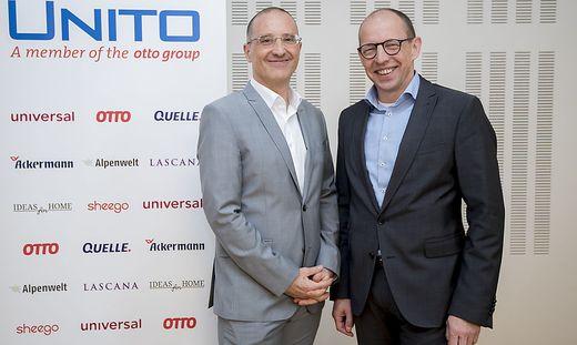 Unito-Manager Harald Gutschi und Achim Güllmann