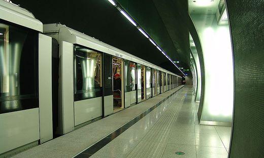 Die Metroline M4 in Budapest