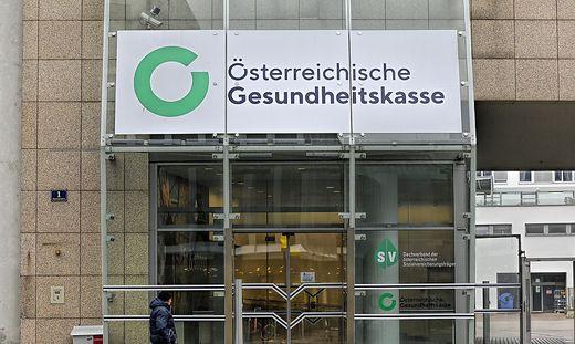 ++ THEMENBILD ++ �GK - �STERREICHISCHE GESUNDHEITSKASSE