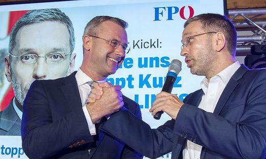 Kickl reklamiert Innenressort für FPÖ