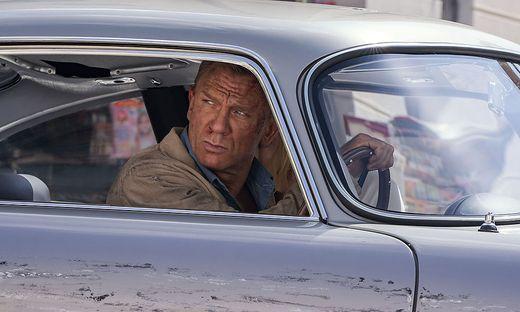 Daniel Craig ist zum letzten Mal als James Bond zu sehen