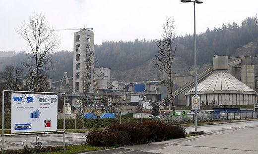 Die w&p-Zementfabrik ist einer der größten Arbeitgeber im Görtschitztal