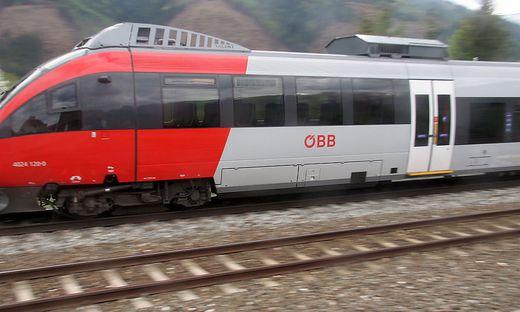 Im Zug Graz-Bruck kam es zu dem Übergriff (Sujet)