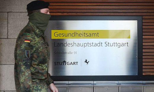 Bundeswehr hilft in Stuttgart bei Corona-Nachverfolgung
