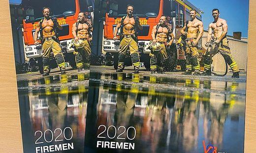 Der neue Kalender der Berufsfeuerwehr Graz ist da