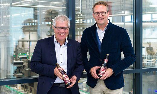 Geschäftsführer Thomas Santler und Marketingleiter Peter Peschel