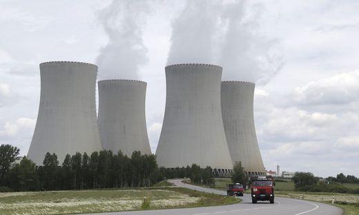 Das Atomkraftwerk Temelin