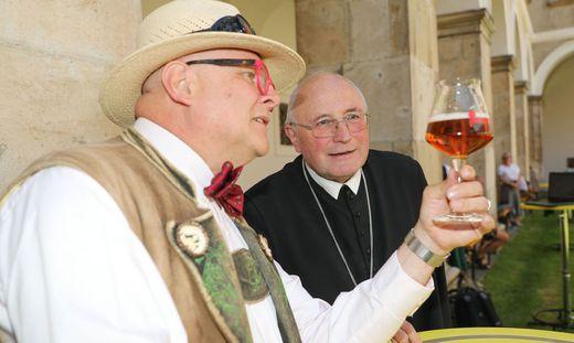 """""""Bierpapst"""" Conrad Seidl begleitete """"Global Beer"""""""