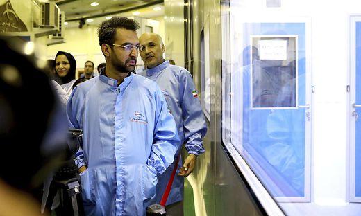 Telekommunikationsminister Mohammad Javad Azari Jahromi