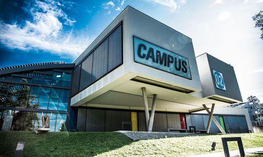 Die FH Campus 02 in Graz
