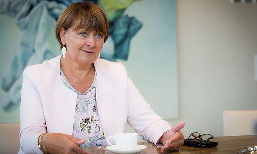 BKS Bank-Vorstandsvorsitzende Herta Stockbauer BKS Bank Klagenfurt