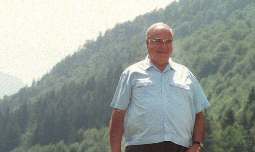 Helmut Kohl verbrachte jahrenald seinen Sommerurlaub in St. Gilgen