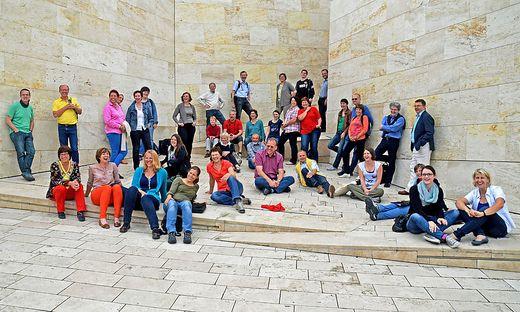 """Australia trifft Austria: Der Chor """"Collegium Vocale"""" (Bild) tritt mit Gästen aus Melbourne auf"""