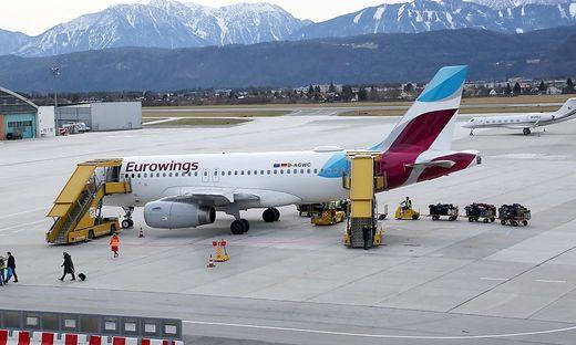 Am Flughafen Klagenfurt fürchtet man Ende der Eurowings-Verbindung nach Köln