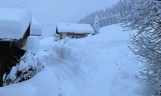 Das Lesachtal versank Anfang Dezember im Schnee, nun soll wieder einiges dazukommen