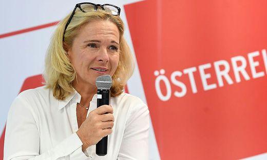 ÖHV-Präsidentin Michaela Reitterer