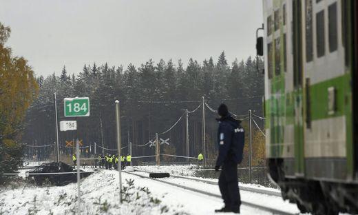 Mehrere Tote bei Zugunglück in Finnland