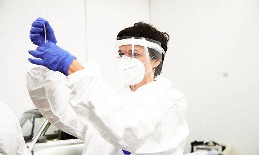 ++ HANDOUT ++ CORONA: RENDI-WAGNER BEI BEI LEHRER-TESTS