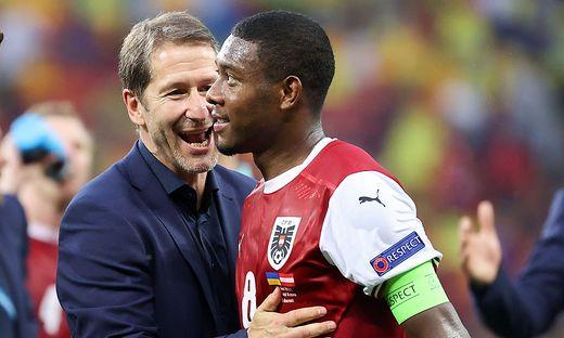 Franco Foda kann zumindest auf David Alaba zurückgreifen