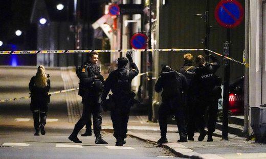 Ein Bogenschütze tötete in Kongsberg fünf Menschen