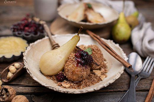 Die saisonale Birne als ´Star´ am Teller!