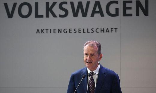 Herbert Diess, Chef von Europas größtem Industriekonzern