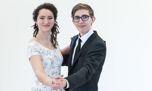 Ina-Maria Haberz (18) aus Langenwang und Nicolas Simon (17) aus Bruck