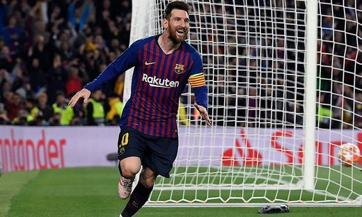 Freude bei Messi und Co.