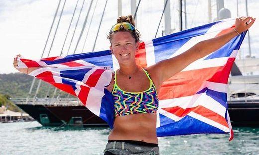 Jasmine Harrison nach ihrer Ankunft