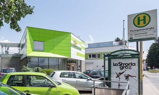 Die Wiki-Zentrale in Graz.