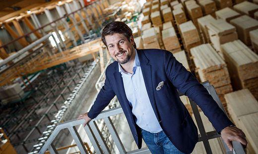 Christoph Kulterer, Eigentümer und CEO der Hasslacher Holzindustrie