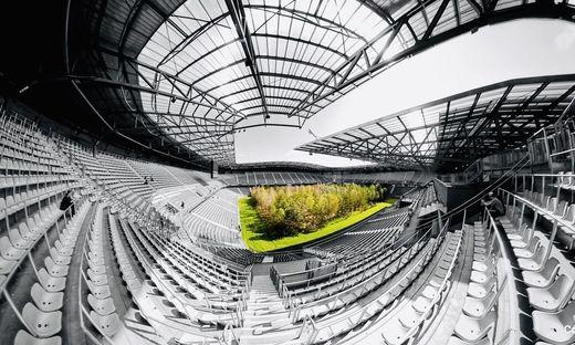 Bis 27. Oktober ist der Wald noch im Wörthersee Stadion zu sehen