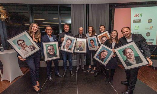 Die Köpfe des Jahres 2019 der Region Graz