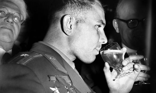 Die Grazer KPÖ würdigt voll Inbrunst den russischen Nationalhelden Gagarin