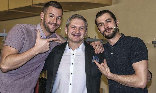 Pizzera, Bürgermeister Christian Sander & Jaus