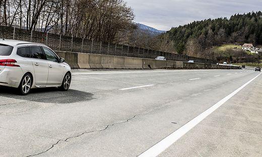 41.000 Fahrzeuge sind auf der A2 bei Pörtschach täglich unterwegs