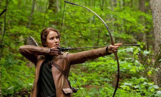 """Die Tribute von Panem - """"Catching Fire"""" ist der zweite Teil der Reihe (Jennifer Lawrence als Katniss)"""
