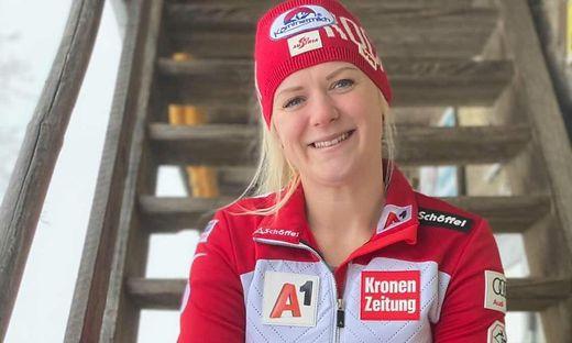 Slalom-Ass Katharina Truppe verliert nie ihr Lächeln