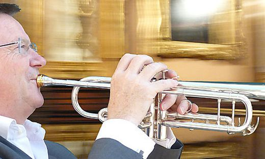 Mit der sanften Kraft der Trompete will Leonhard Leeb seine Geschichten erzählen