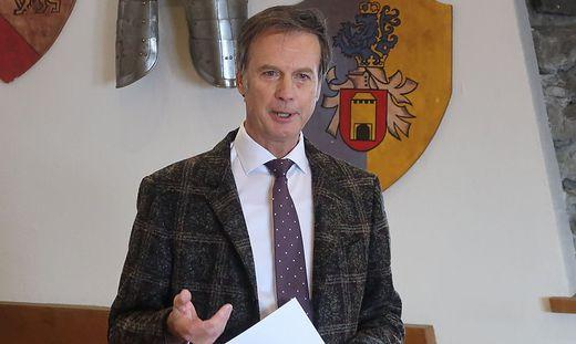 Bürgermeister Fritz Kratzer lud am Dienstag zum Neujahrsempfang auf die Burg