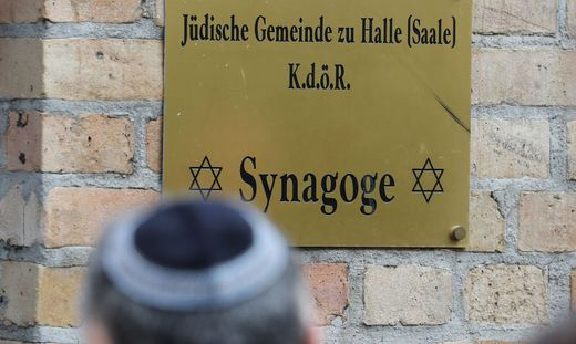 Nach Angriff in Halle/Saale - Synagoge